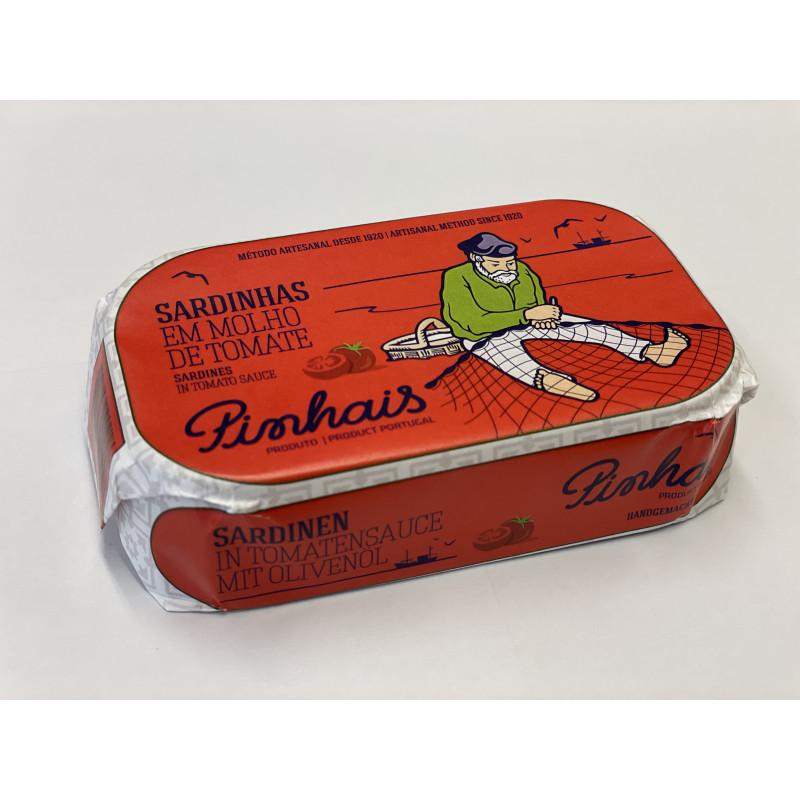 Sardinky v rajčatové omáčce - PINHAIS - ručně baleno